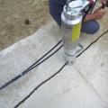 Graving av grøft til røranlegg